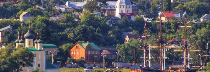 Воронеж, вид на город с реки