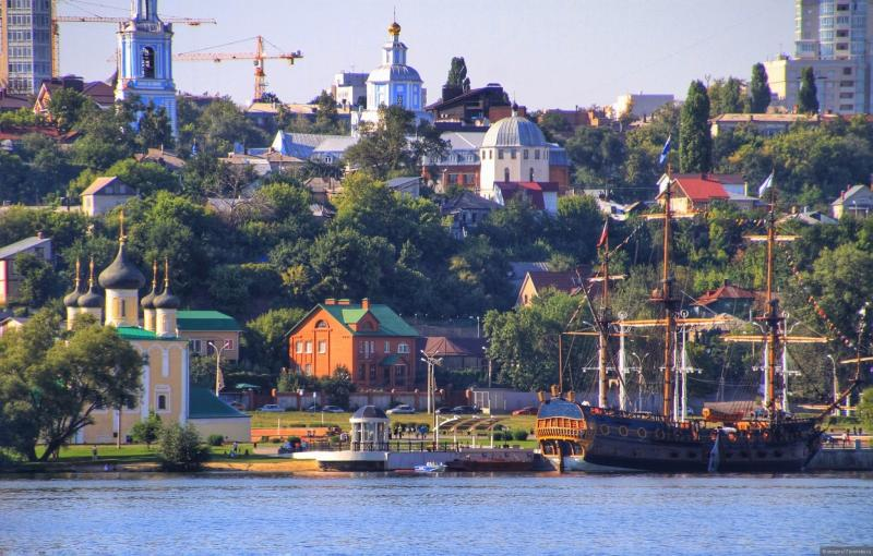 Воронеж: современный облик колыбели российского военно-морского флота