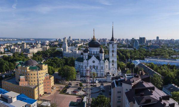 Воронеж, вид на собор
