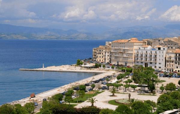 Керкира — столица острова Корфу