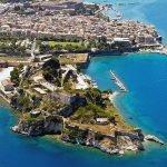 Вид на крепость в Керкире