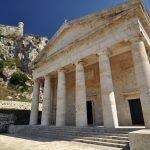Крепость в Керкире и храм