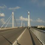 Мост через Волгу в Кимрах