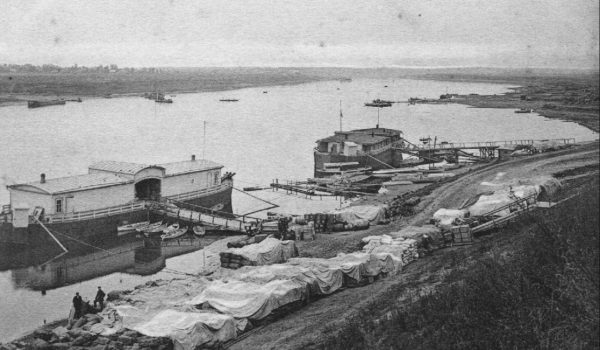 Изображение старинной кимрской пристани