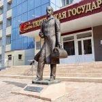 Памятник земскому доктору, Тюмень