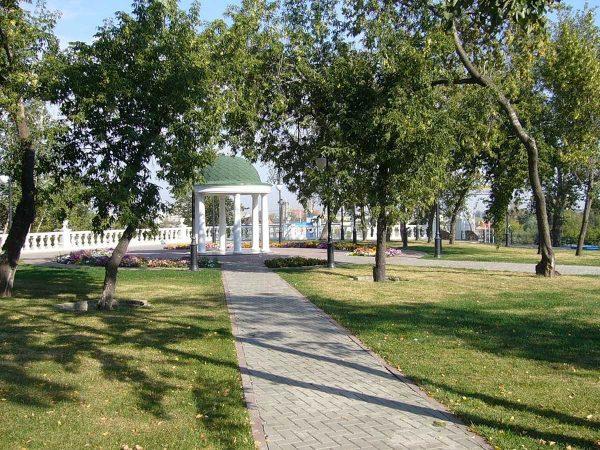 Александровский (Загородный) сад, Тюмень