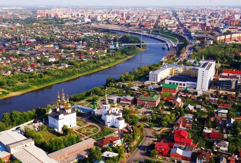 Тюмень: вчера, сегодня, завтра первого русского города Сибири
