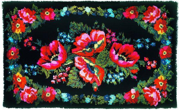 Тюменский ковёр ручной работы