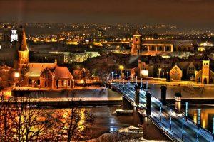 Ночной Каунас