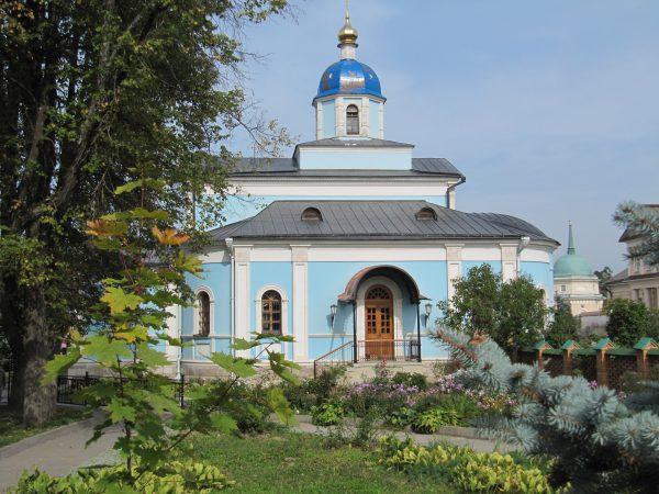 Храм в честь Владимирской иконы Божией Матери