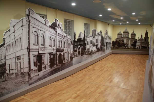 Экспозиция «Столица сапожного царства» в кимрском краеведческом музее
