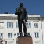 Памятник Ленину, Кольчугино