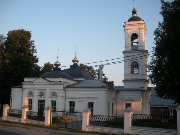 Свято-Покровский храм, Кольчугино