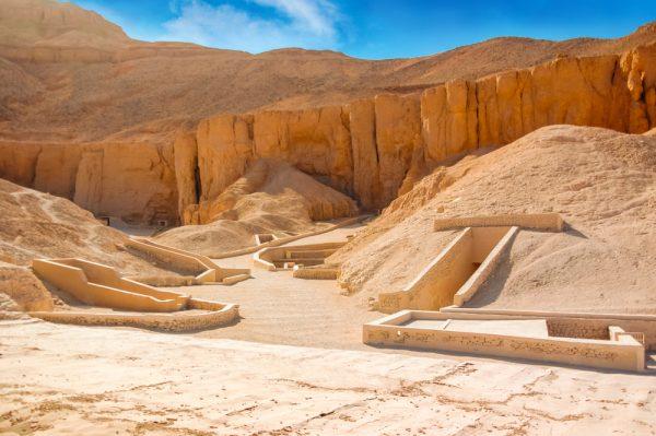 Гробницы фараонов в Долине царей