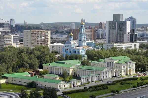 Усадьба Расторгуевых-Харитоновых на Урале