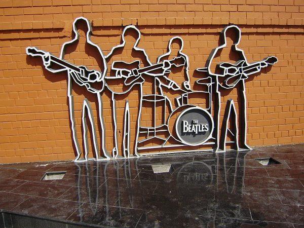 Памятник The Beatles в уральском городе Екатеринбурге