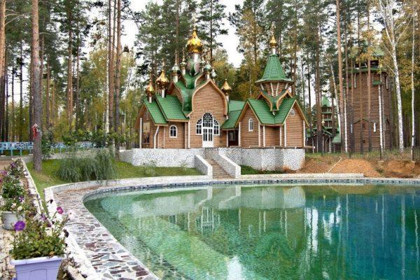 Монастырь в Ганиной Яме рядом с Екатеринбургом