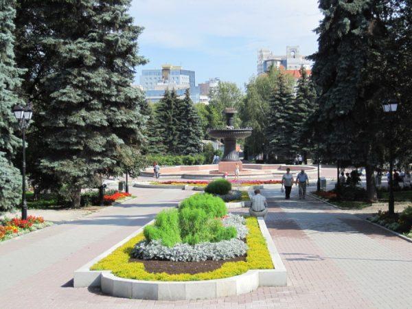 Екатеринбургский дендропарк на Урале