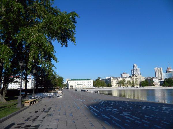 Исторический сквер в Екатеринбурге