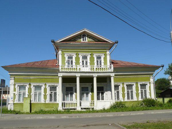 Дом Засецких в Вологде