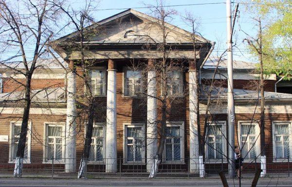 Дом Пузана-Пузыревского в Вологде