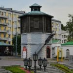 Старая водонапорная башня в Екатеринбурге
