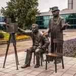 Памятник братьям Люмьер в Екатеринбурге