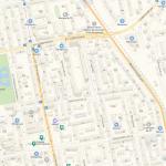 Харитоновский сад на карте Екатеринбурга