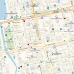 Достопримечательности на карте центра Екатеринбурга