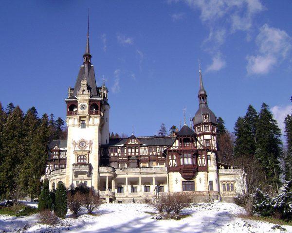 Замок Пелеш возле Бухареста