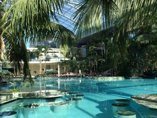 Крытый аквапарк «Термы Бухареста»