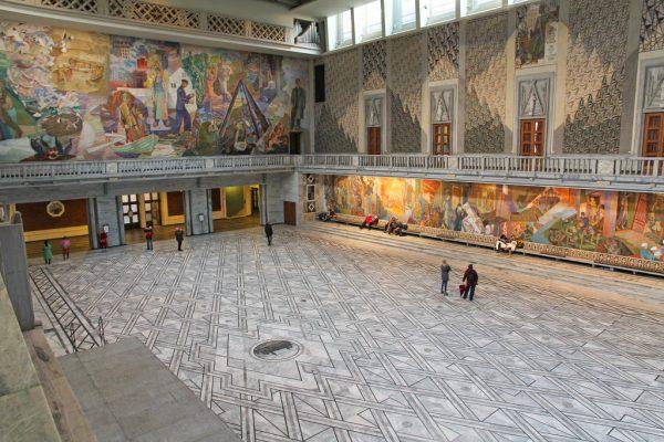 Здание ратуши изнутри