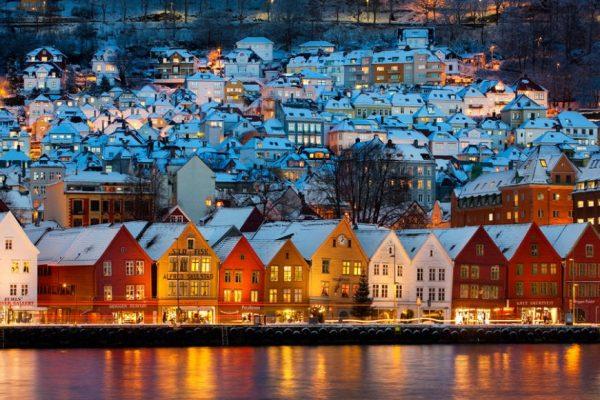 Зимний Осло