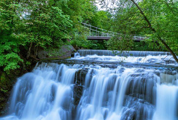 Водопад реки Акерсельва