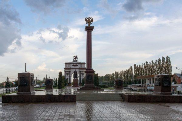 Стела Курск — город воинской славы