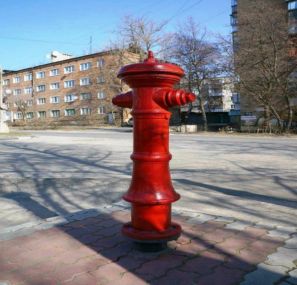 Памятник Пожарному гидранту, Курск