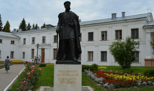 Памятник Барятинскому, Марьино