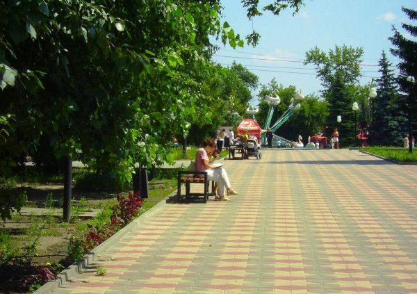 Парк 1-го мая в Курске