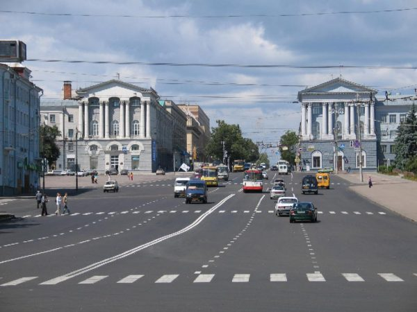 Улица Ленина, Курск