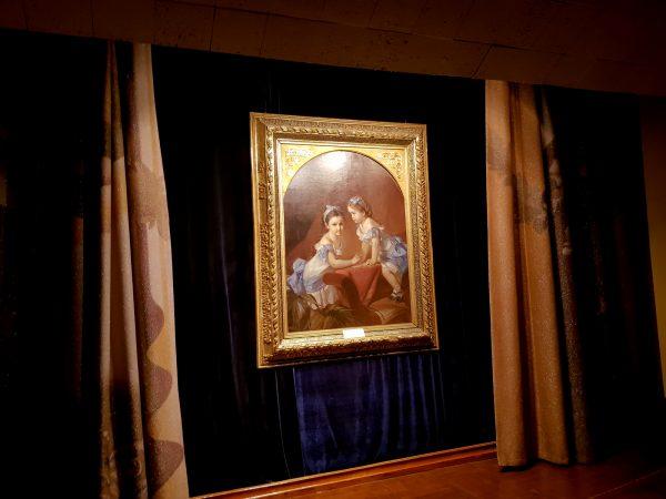 Картина И. Макарова «Девочки-сёстры» в Музее одной картины