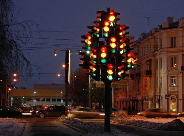 Дерево-светофор
