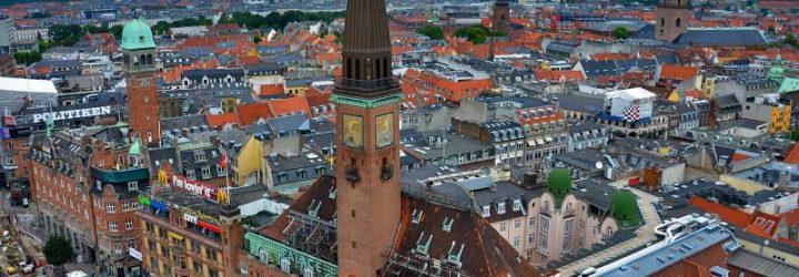 Вид на Копенгаген сверху