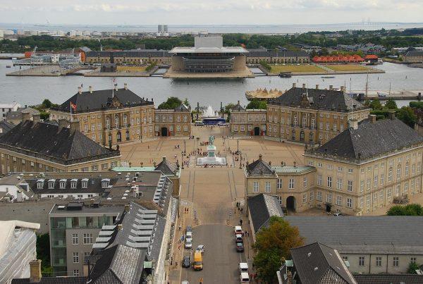 Дворец Амалиенборг, Копенгаген