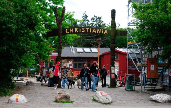 Вход в Христианию, Копенгаген