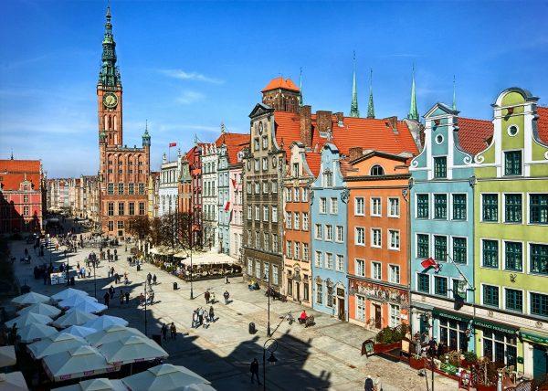 Исторические здания Гданьска