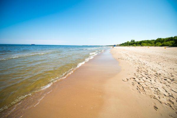 Пляж в Гданьске