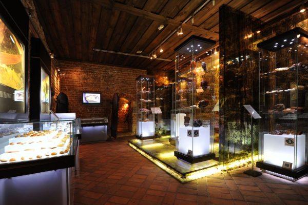 Зал в музее янтаря