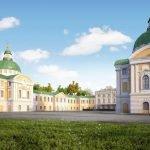 Путевой дворец — общий вид