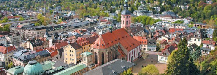 Баден-Баден сверху
