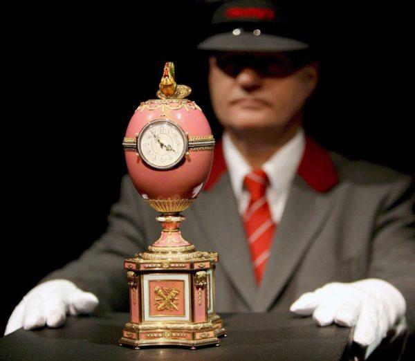 Пасхальное яйцо-часы Ротшильда